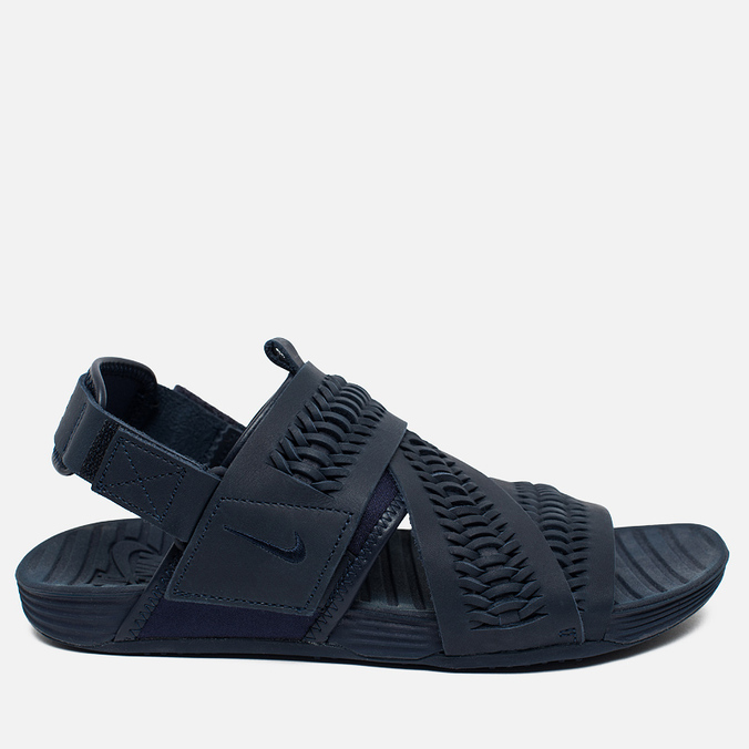 Nike Air Solarsoft Zigzag Woven QS Men's Sandals Obsidian