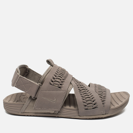 Nike Air Solarsoft Zigzag Woven QS Men's Sandals Taupe