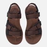Мужские сандалии Timberland Pierce Point Brown фото- 4