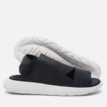 Мужские сандалии Y-3 Qasa Sandal Black фото- 2