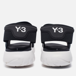 Мужские сандалии Y-3 Qasa Sandal Black фото- 3