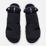 Мужские сандалии Y-3 Qasa Sandal Black фото- 4