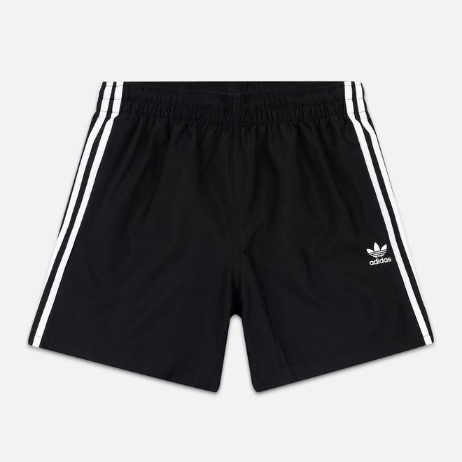 Мужские шорты adidas Originals 3-Stripe Swim Black