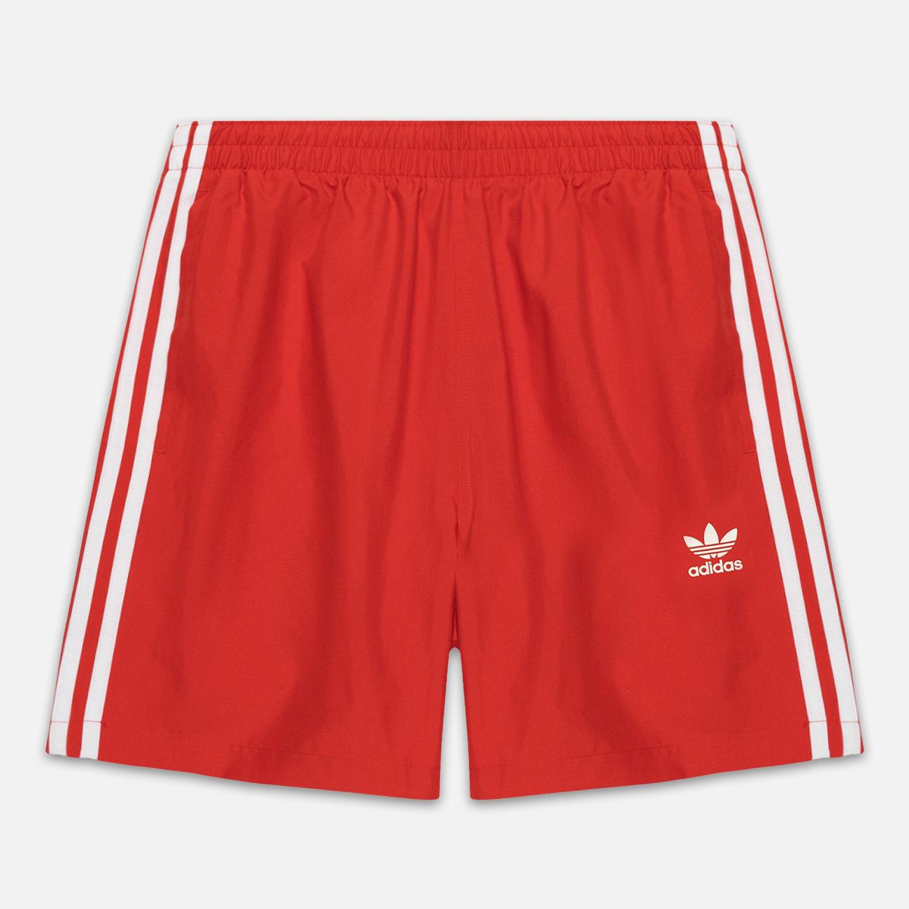 Мужские шорты adidas Originals 3-Stripe Swim Lush Red