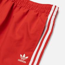 Мужские шорты adidas Originals 3-Stripe Swim Lush Red фото- 1