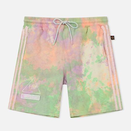 Мужские шорты adidas Originals x Pharrell Williams Human Race Holi Multicolor/White