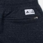 Мужские шорты adidas Originals x Reigning Champ AARC FT Collegiate Navy/Cold Heather фото- 3