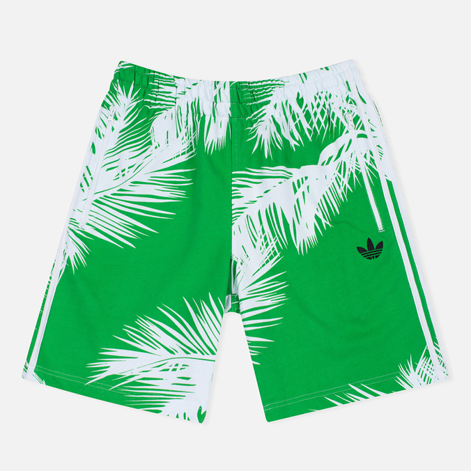 Мужские шорты adidas Consortium x Pharrell Williams BBC Palm Tree Shorts White/Green