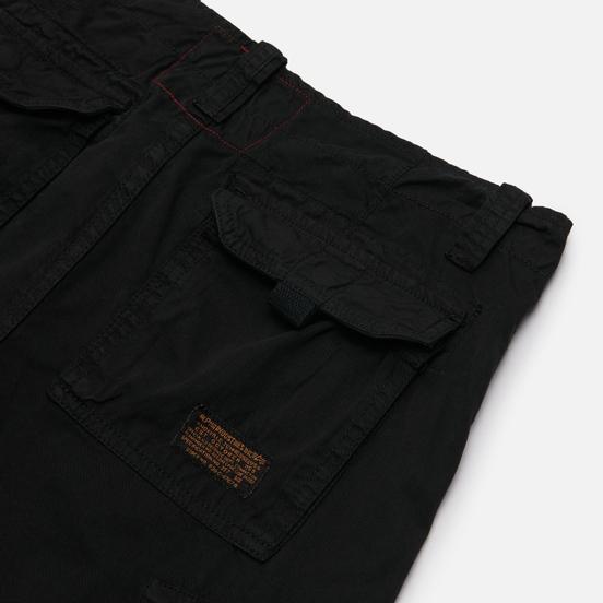 Мужские шорты Alpha Industries Jet Cargo Black