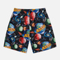 Мужские шорты ASSID Bad World Black/Multicolor фото - 0