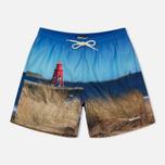 Мужские шорты Barbour Beacon Blue фото- 0