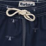 Мужские шорты Barbour Beacon Print Swim Navy фото- 2