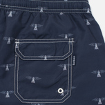 Мужские шорты Barbour Beacon Print Swim Navy фото- 3