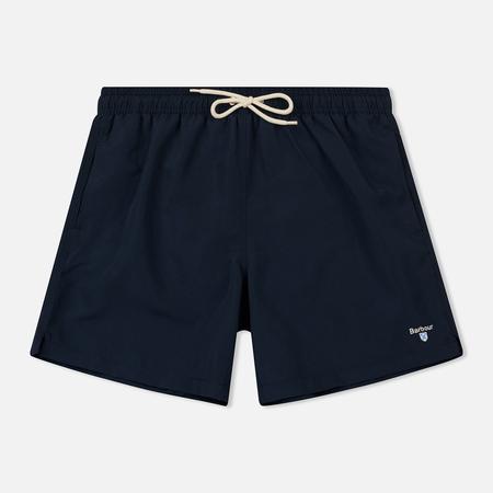 Мужские шорты Barbour Logo 5 Navy