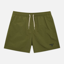 Мужские шорты Barbour Swim Essential Logo Olive