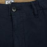 Мужские шорты C.P. Company Cotton And Linen Cargo Black Iris фото- 2