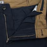 Мужские шорты C.P. Company Cotton And Linen Cargo Black Iris фото- 1