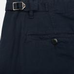 Мужские шорты C.P. Company Cotton And Linen Cargo Black Iris фото- 5
