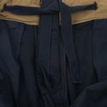 Мужские шорты C.P. Company Cotton And Linen Cargo Black Iris фото- 6