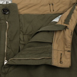 Мужские шорты C.P. Company Cotton And Linen Cargo Dark Olive фото- 1