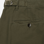 Мужские шорты C.P. Company Cotton And Linen Cargo Dark Olive фото- 5