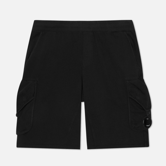 Мужские шорты C.P. Company Heavy Jersey Cargo Black