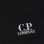 Мужские шорты C.P. Company Print Logo Sweat Bermuda Caviar фото- 3