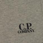 Мужские шорты C.P. Company Print Logo Sweat Bermuda Grey Melange фото- 3