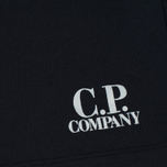 Мужские шорты C.P. Company Print Logo Sweat Bermuda Total Eclipse фото- 3