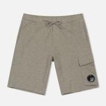 Мужские шорты C.P. Company Sweat Bermuda Grey Melange фото- 0