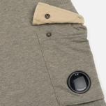 Мужские шорты C.P. Company Sweat Bermuda Grey Melange фото- 3