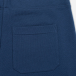 Мужские шорты Cahrartt WIP College Sweat 9.1 Oz Blue/White фото- 3