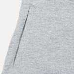 Мужские шорты Carhartt WIP College Sweat 9.1 Oz Grey Heather/Cordovan фото- 1