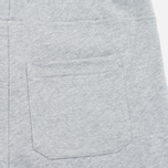 Мужские шорты Carhartt WIP College Sweat 9.1 Oz Grey Heather/Cordovan фото- 3