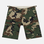 Мужские шорты Carhartt WIP Aviation Columbia Ripstop 6.5 Oz Camo 313 Green фото- 0