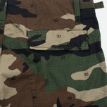 Мужские шорты Carhartt WIP Aviation Columbia Ripstop 6.5 Oz Camo 313 Green фото- 3