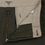 Мужские шорты Carhartt WIP Aviation Columbia Ripstop 6.5 Oz Cypress Rinsed фото- 1