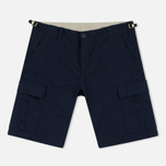 Мужские шорты Carhartt WIP Aviation Columbia Ripstop 6.5 Oz Navy Rinsed фото- 0