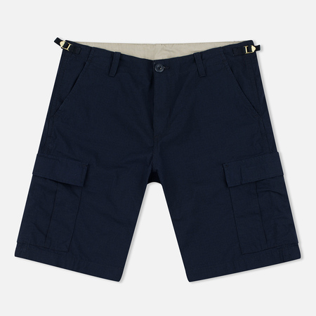 Мужские шорты Carhartt WIP Aviation Columbia Ripstop 6.5 Oz Navy Rinsed