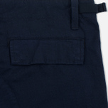 Мужские шорты Carhartt WIP Aviation Columbia Ripstop 6.5 Oz Navy Rinsed фото- 2