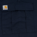 Мужские шорты Carhartt WIP Aviation Columbia Ripstop 6.5 Oz Navy Rinsed фото- 4