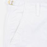 Мужские шорты Carhartt WIP Aviation Columbia Ripstop 6.5 Oz White Rinsed фото- 2