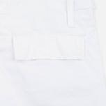 Мужские шорты Carhartt WIP Aviation Columbia Ripstop 6.5 Oz White Rinsed фото- 3