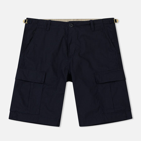 Мужские шорты Carhartt WIP Aviation Dark Navy Rinsed