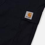 Мужские шорты Carhartt WIP Aviation Dark Navy Rinsed фото- 4