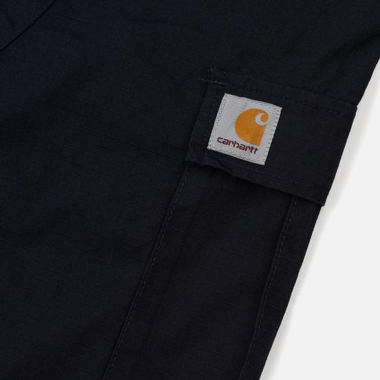 Мужские шорты Carhartt WIP Aviation Dark Navy Rinsed