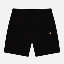 Мужские шорты Carhartt WIP Chase Sweat 13 Oz Black/Gold