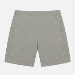 Мужские шорты Carhartt WIP Chase Sweat 13 Oz Grey Heather/Gold