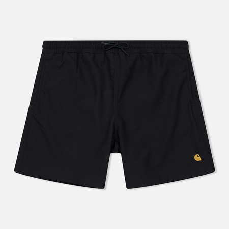 Мужские шорты Carhartt WIP Chase Swim 3.7 Oz Black/Gold