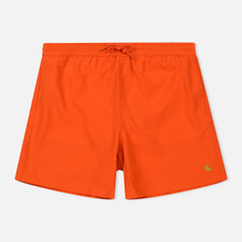 Мужские шорты Carhartt WIP Chase Swim 3.7 Oz Pepper/Gold фото- 0